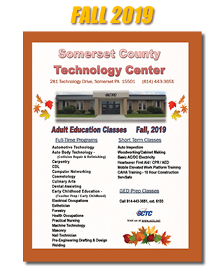 Fall 2019 Adult Classes