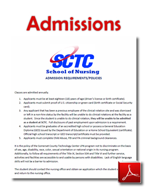 LPN Admissions Info
