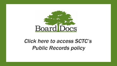 SCTC Public Records policy document