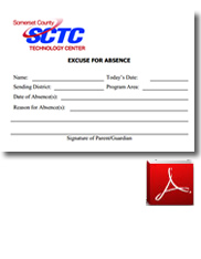 SCTC Student Excuse Form